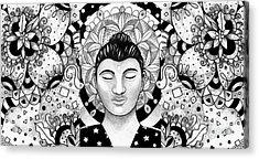 Finding Peace Acrylic Print