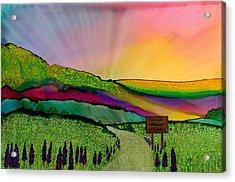 Find The Way Antigonish Ns Acrylic Print
