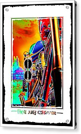 Fine Art Chopper I Acrylic Print by Mike McGlothlen