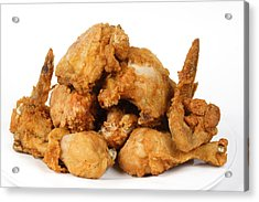 Fine Art Fried Chicken Food Photography Acrylic Print by James BO  Insogna