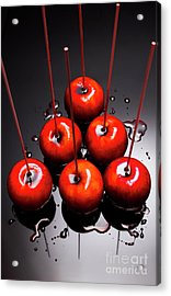 Fine Art Toffee Apple Dessert Acrylic Print