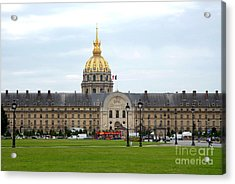 Fine Day In Paris By Taikan Acrylic Print