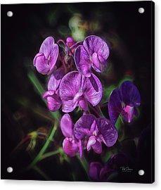 Fine Flower Arrangement Acrylic Print