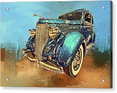 Fine Ride Acrylic Print