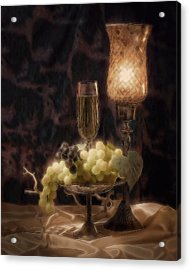 Fine Wine Still Life Acrylic Print