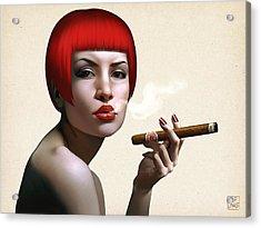 Finest Cuban Acrylic Print