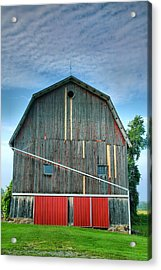 Finger Lakes Barn Iv Acrylic Print by Steven Ainsworth