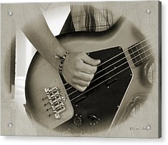 Finger Pickin' Good 9 Acrylic Print by Kae Cheatham
