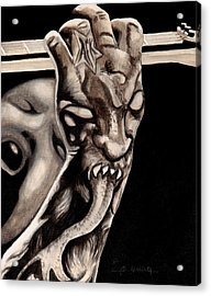 Fingers From Hell Acrylic Print by Al  Molina