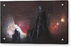 Fingolfins Final Fight Acrylic Print