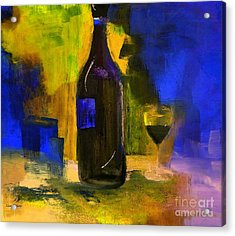 One Last Glass Before Bed Acrylic Print