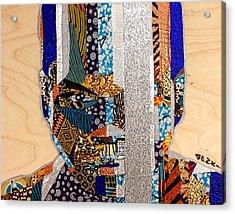 Finn Star Wars Awakens Afrofuturist  Acrylic Print