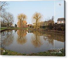 Finningley Pond Acrylic Print