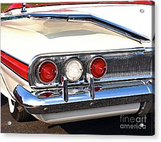 Fins Were In - 1960 Chevrolet Acrylic Print