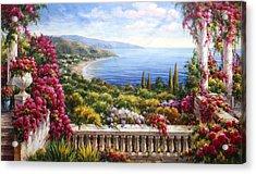 Fiori Sul Lago Di Como Acrylic Print