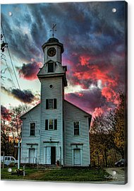 Fire And Brimstone Acrylic Print