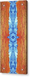 Fire And Ice - Digital 2 Acrylic Print by Otto Rapp