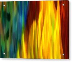 Fire And Water Acrylic Print