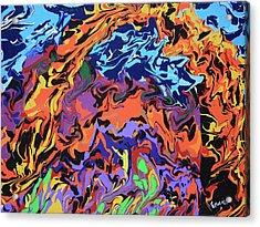 Fire Arch Acrylic Print