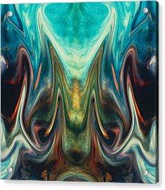 Fire Birth Acrylic Print by Tom Romeo