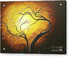 Fire Blossoms Acrylic Print