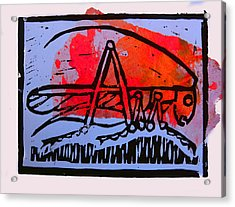 Fire Cricket Acrylic Print by Adam Kissel