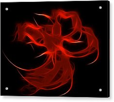 Fire Dancer Acrylic Print