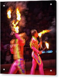 Fire Eaters Acrylic Print