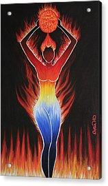 Fire - Element Acrylic Print