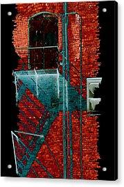Fire Escape 7 Acrylic Print by Tim Allen