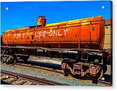 Fire Fighting Tanker Acrylic Print