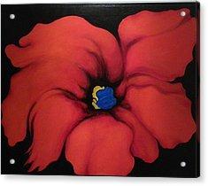 Fire Flower Acrylic Print