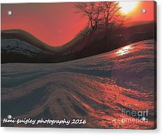 Fire Frost Acrylic Print
