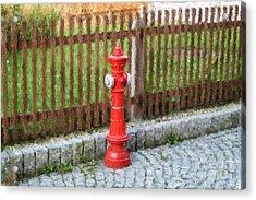 Fire Hydrant Acrylic Print