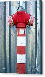 Fire Hydrant Steel Wall Acrylic Print