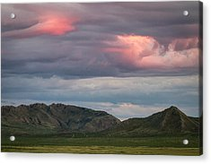 Glow In Clouds Acrylic Print