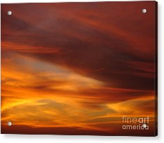 Fire In The Sky 2 Acrylic Print by Chad Natti
