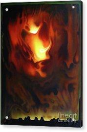 Fire In The Sky Acrylic Print by Jurek Zamoyski