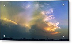 Acrylic Print featuring the photograph Fire In The Sky by Rod Seel