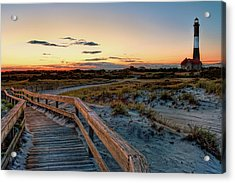 Fire Island Lighthouse At Robert Moses State Park Acrylic Print by Jim Dohms
