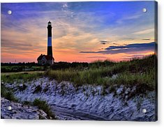 Fire Island Lighthouse Acrylic Print by Rick Berk
