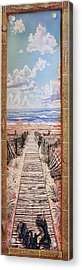 Fire Island Walkway To The Beach Acrylic Print