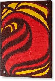 Fire Acrylic Print by Joseph Bradley