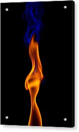 Acrylic Print featuring the photograph Fire Lady by Gert Lavsen
