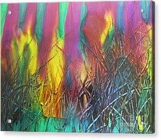 Fire Mishap Acrylic Print