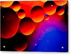 Fire Moons Acrylic Print