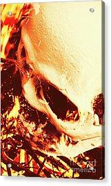 Fire Of Doom Acrylic Print