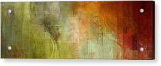 Fire On The Mountain - Abstract Art Acrylic Print