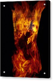 Fire One  Acrylic Print by Arla Patch