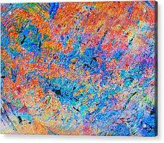 Fire Opal Acrylic Print